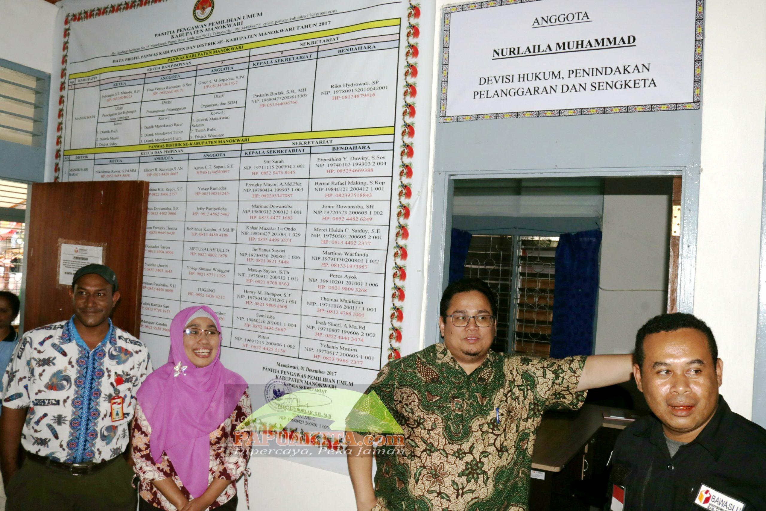 Kantor Bawaslu Kabupaten Manokwari