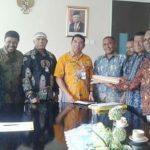 Tim Pemkeran Calon DOB Kokas saat bertemu dengan Kepala Biro Pemerintahan Setda Provinsi Papua Barat, A. Rumbiak
